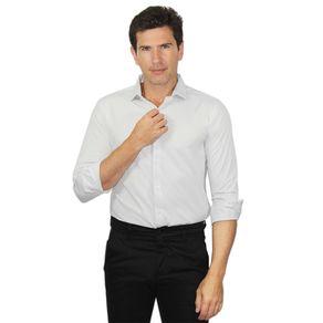 Camisa-Manga-Longa-Slim-Mista-Maquinetada