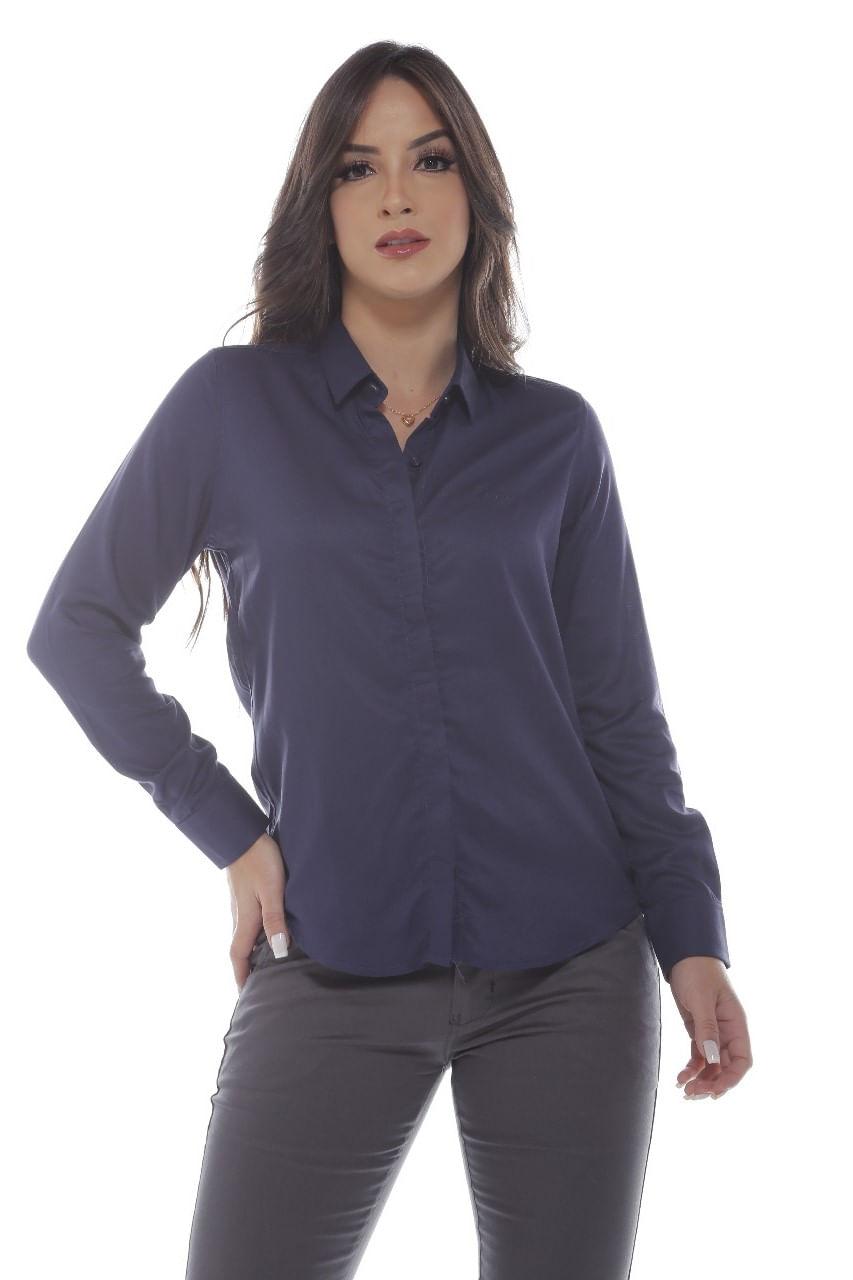 Camisa Manga Longa Tradicional Vista Coberta