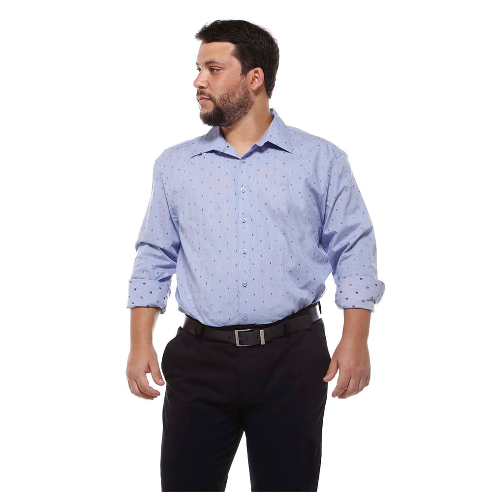 Camisa Manga Longa Extra Grande